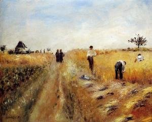 Pierre Auguste Renoir - The Harvesters