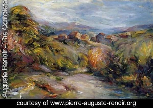 Pierre Auguste Renoir - The Hills Of Cagnes
