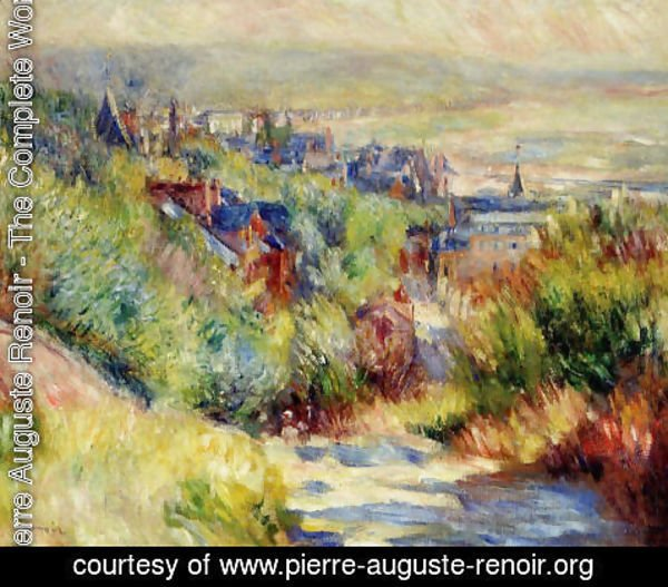 Pierre Auguste Renoir - The Hills Of Trouville