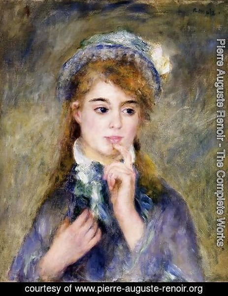 Pierre Auguste Renoir - The Ingenue