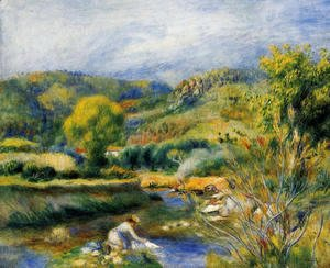 Pierre Auguste Renoir - The Laundress