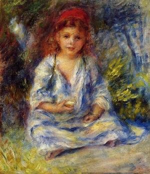 Pierre Auguste Renoir - The Little Algerian Girl