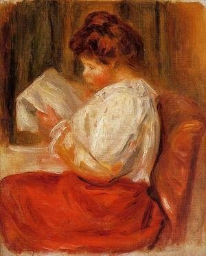 Pierre Auguste Renoir - The Little Reader