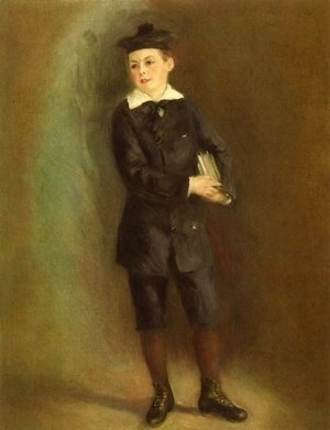 Pierre Auguste Renoir - The Little School Boy