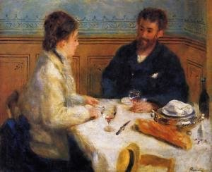 Pierre Auguste Renoir - The Luncheon