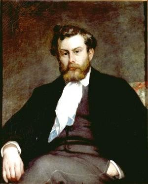 Pierre Auguste Renoir - The Painter Alfred Sisley