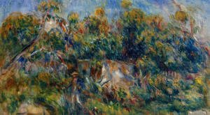 Pierre Auguste Renoir - The Painter Taking A Stroll At Cagnes