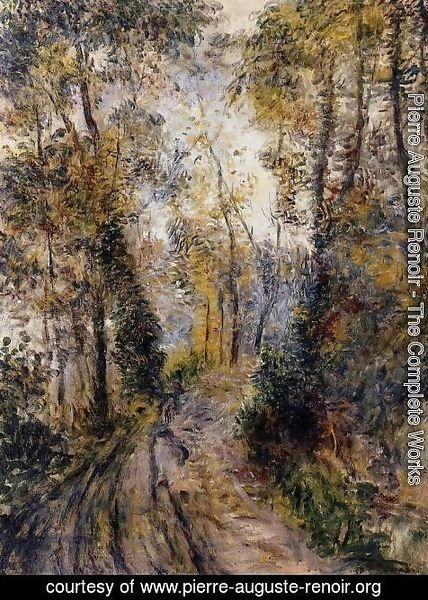Pierre Auguste Renoir - The Path Through The Forest