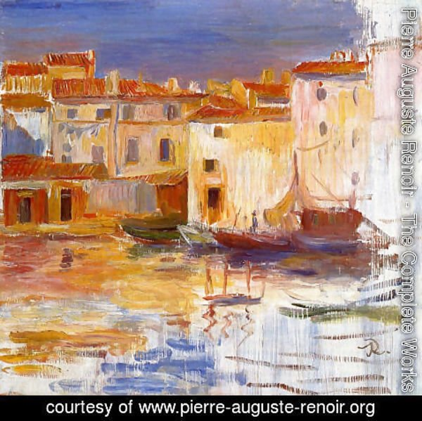 Pierre Auguste Renoir - The Port Of Martigues