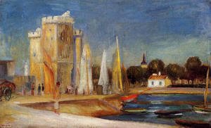 Pierre Auguste Renoir - The Port Of Rochelle