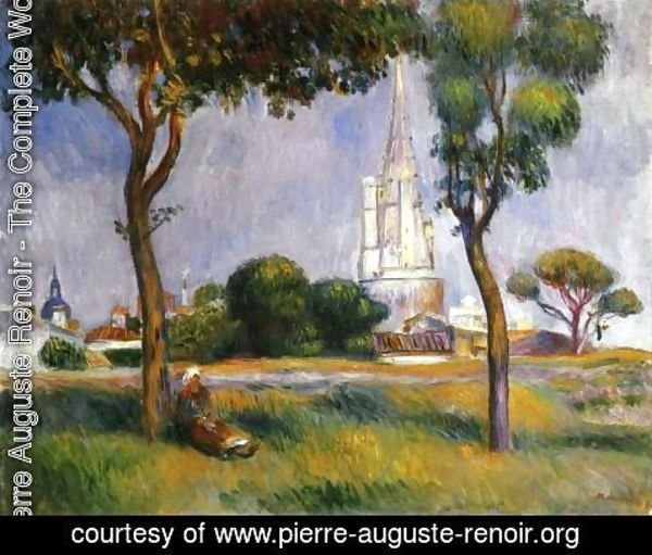 Pierre Auguste Renoir - The Powder Magazine At La Rochelle