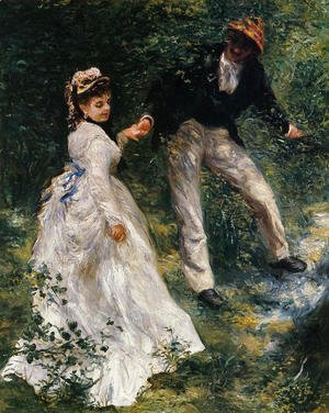 Pierre Auguste Renoir - The Promenade