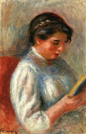 Pierre Auguste Renoir - The Reader