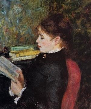 Pierre Auguste Renoir - The Reader2