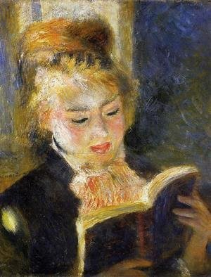 Pierre Auguste Renoir - The Reader Aka Young Woman Reading A Book