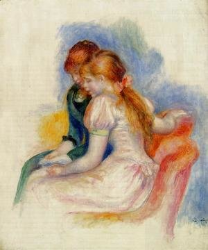 Pierre Auguste Renoir - The Reading