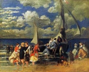 Pierre Auguste Renoir - The Return Of The Boating Party