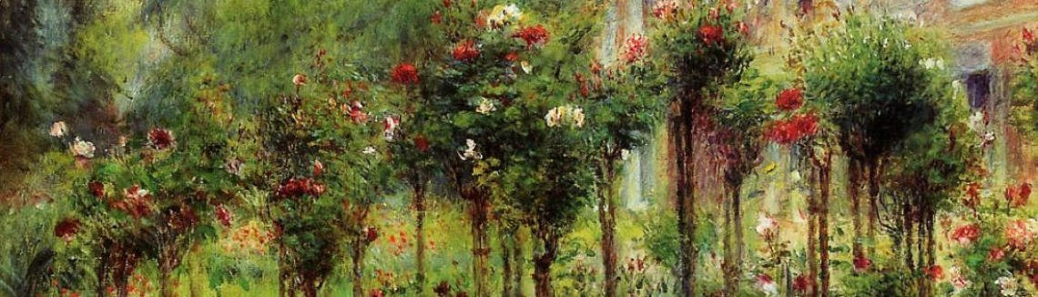 Pierre Auguste Renoir - The Rose Garden At Wargemont