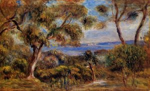 Pierre Auguste Renoir - The Sea At Cagnes