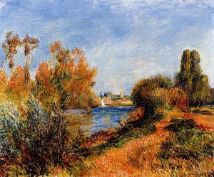 Pierre Auguste Renoir - The Seine At Argenteuil