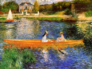 Pierre Auguste Renoir - The Seine At Asnieres Aka The Skiff