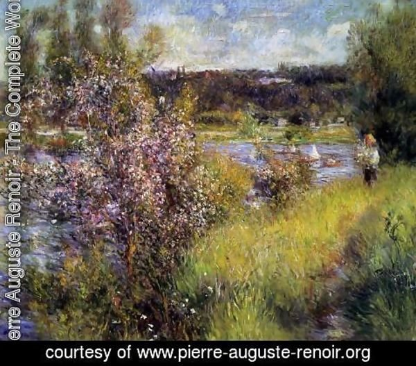 Pierre Auguste Renoir - The Seine At Chatou