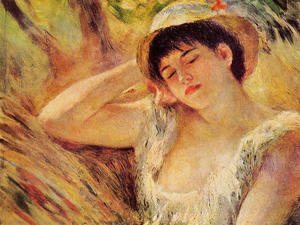 Pierre Auguste Renoir - The Sleeper