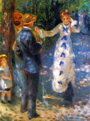 Pierre Auguste Renoir - The Swing2