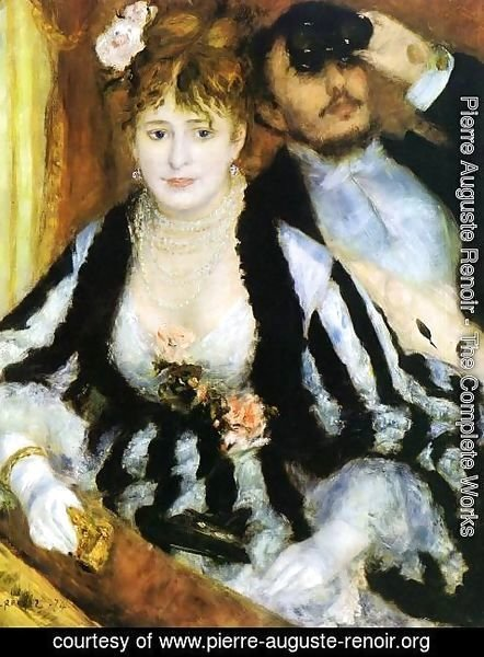 Pierre Auguste Renoir - The Theater Box2