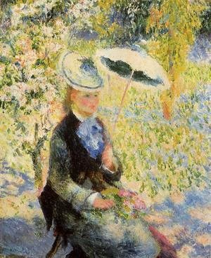 Pierre Auguste Renoir - The Umbrella