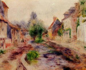 Pierre Auguste Renoir - The Village