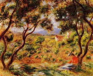 Pierre Auguste Renoir - The Vineyards Of Cagnes
