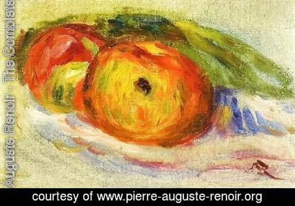 Pierre Auguste Renoir - Two Apples