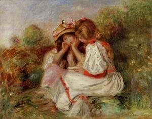 Pierre Auguste Renoir - Two Little Girls