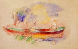 Two Women In A Rowboat