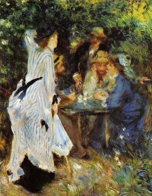 Pierre Auguste Renoir - Under The Arbor At The Moulin De La Galette