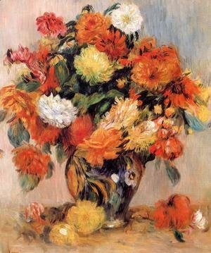 Pierre Auguste Renoir - Vase Of Flowers