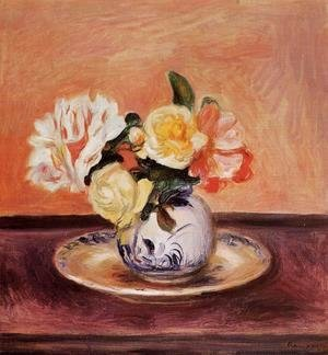 Pierre Auguste Renoir - Vase Of Flowers2