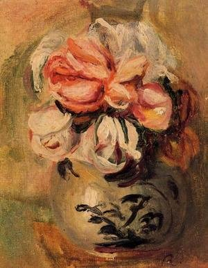 Pierre Auguste Renoir - Vase Of Flowers4