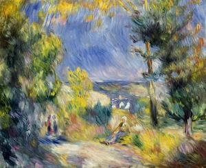 Pierre Auguste Renoir - View Close To Antibes