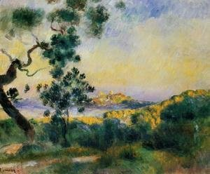 Pierre Auguste Renoir - View Of Antibes
