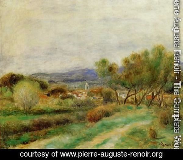 Pierre Auguste Renoir - View Of La Sayne