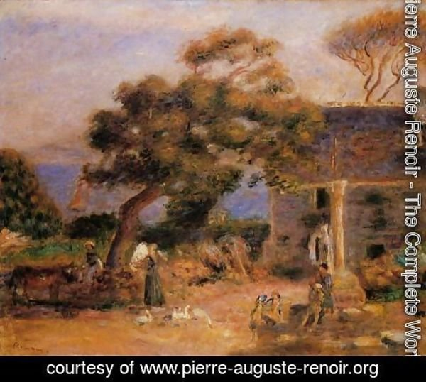 Pierre Auguste Renoir - View Of Treboul