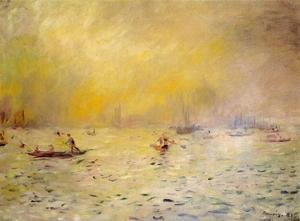 Pierre Auguste Renoir - View Of Venice  Fog