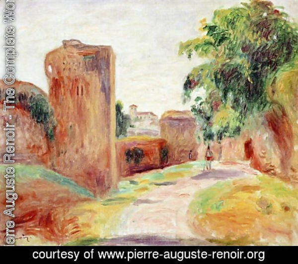 Pierre Auguste Renoir - Walls In Spain