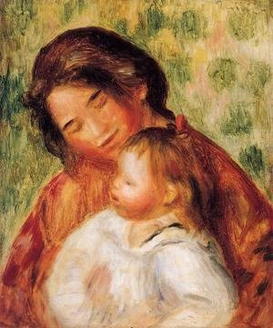 Pierre Auguste Renoir - Woman And Child2