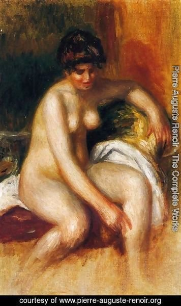 Pierre Auguste Renoir - Woman In An Interior