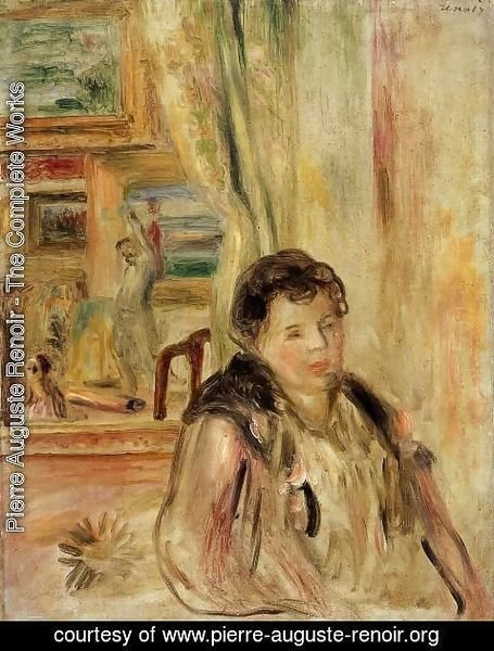 Pierre Auguste Renoir - Woman In An Interior2