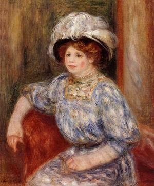 Pierre Auguste Renoir - Woman In Blue