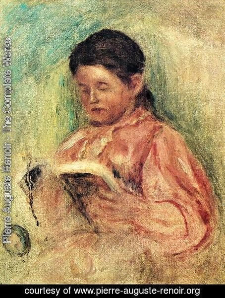 Pierre Auguste Renoir - Woman Reading